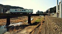 Trenecito de la línea Tenryu Hamanako, que recorre el oeste de Shizuoka.