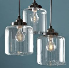 Wholesale Chandeliers & Pendant Lamps - Buy Nordic Modern Minimalist Creative Art Glass Chandelier Bar Restaurant Bedroom Pendant Lamp, $222...