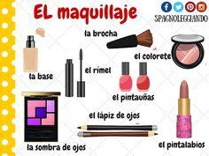 Risultati immagini per el maquillaje ficha de lexico