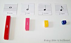 Montessori-inspired music themed learning activities for kids.