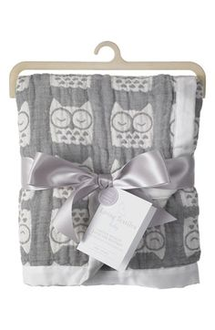 Living Textiles Cotton Muslin Jacquard Blanket (Baby & Toddler) available at #Nordstrom