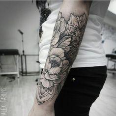Forearm half sleeve ❁♡ Tattoo Ideas ♡❁