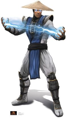 Raiden - Mortal Kombat Cardboard Standup