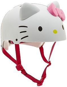 Bell Child's Hello Kitty Adventurer Multi-Sport Bike Helmet Ride Along 3D Bell - http://sports.goshoppins.com/cycling-equipment/bell-childs-hello-kitty-adventurer-multi-sport-bike-helmet-ride-along-3d-bell/