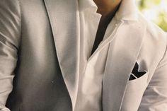 Wedding Ideas: cream-summer-suit