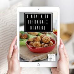 A Month Of Thermomix Dinners eBook The Famous 3 Ingredient Christmas Cake - Bake Play Smile Baking Recipes, Dog Food Recipes, Dessert Recipes, Mince Recipes, Brownie Recipes, Yummy Recipes, Soup Recipes, Thermomix Sausage Rolls, Thermomix Soup