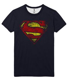 877b391a5449 The unique T-shirt Superman Logo DC Comics Krypton Kryptonite Smallville  Loot Merch -
