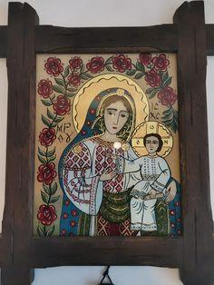 My Glass, Ikon, Madonna, Catholic, Painting, Image, Art, Saints, Illuminated Manuscript