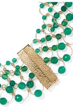 Rosantica | Universo gold-tone quartz necklace | NET-A-PORTER.COM