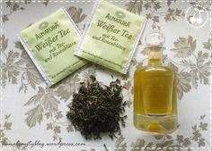 Gesichtswasser aus Weißem und Grünem Tee