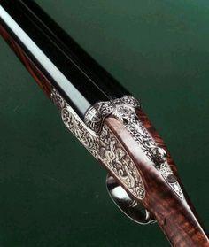 .A fine upland game gun from the gun safe at Hawkesmoor.