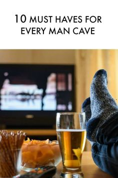 10 must haves for every man cave! Great Father's Day gift ideas - saving!!