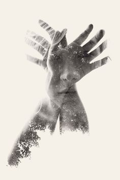 We Are Nature – Multiple Exposure Portraits | Christoffer Relander