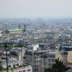 Paris from Montmarte