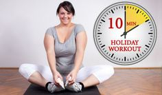 ten minute holiday workout
