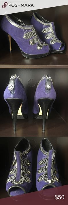 Dollhouse pumps size 7 Brand new size 7 pumps. The color is beautiful blue. Perfect statement shoe! Dollhouse Shoes Heels