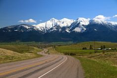 St. Ignatius, Montana  One of the most scenic places in all of Montana.