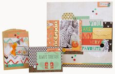 "All Scrapbook Steals - The Blog: Fancy Pants ""True Friends"" is perfect for Fall"