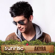Young #noizejunky @akyradj is ready to hit you with his fresh #tek #beats at #sunrisefestival