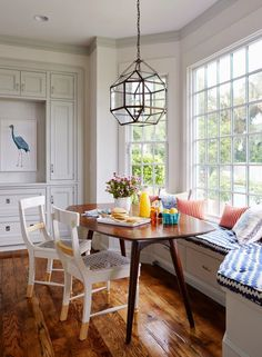 Love the floor colour and size of nook with window
