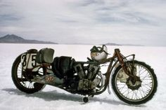 Burt Munro Fastest Indian Motorcycle