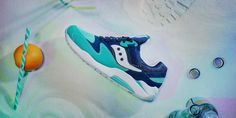 Saucony Grid 9000: Spring Break
