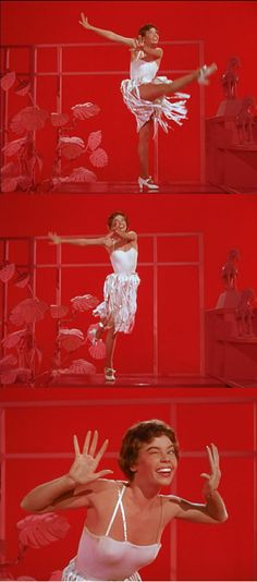 """She's vivacious and modern!"" Leslie Caron as Lise Bouvier in An American in Paris 1951"