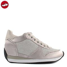 Silver, Sneakers Basses Femme, Argent (Silber), 36 EULico