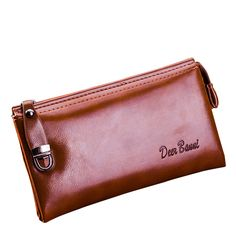 $9.98 (Buy here: https://alitems.com/g/1e8d114494ebda23ff8b16525dc3e8/?i=5&ulp=https%3A%2F%2Fwww.aliexpress.com%2Fitem%2F2016-New-Fashion-Business-Men-s-Wallet-Genuine-Leather-Zipper-Wallet-Male-s-Purse-Solid-Card%2F32682360750.html ) 2016 New Fashion Business Men's Wallet Genuine Leather Zipper Wallet Male's Purse Solid Card&ID Holder Hasp Men Clutch for just $9.98