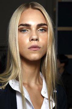 Beauty Inspiration: Bold Brows + Metallic Eyeshadow