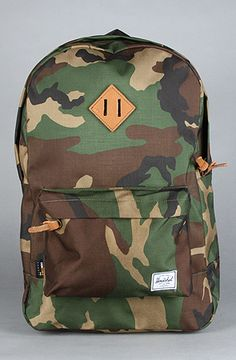 Herschel Supply Camo Backpack at Karmaloop.com - Use code SMARTCANUCKS at the checkout for 20% OFF