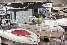 Editorial stock photo available for sale at Dreamstime: Luxury Boats Fiart Mare-big Blue Sea Expo