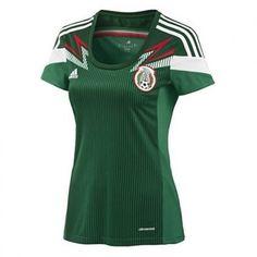 1743485838d18 Playera Seleccion Mexicana - Dama Playera Seleccion Mexicana