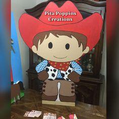 Cowboy birthday prop cute