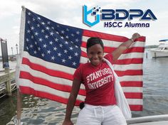 Stephanie Lampkin, founder and CEO of Silicon Valley  start-up #Blendoor, is a #BDPA #HSCC alumna who graduated from Stanford University and earned her MBA from MIT.