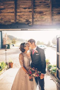 Image by Story & Colour - Bride in Tea Length Lace Justin Alexander Dress with birdcage veil & Rachel Simpson Shoes. Bridesmaid in Hobbs navy dress for a rustic barn wedding with berry blooms, naked cake & nautical theme. Wedding Goals, Wedding Story, Wedding Planning, Dream Wedding, Pink Wedding Dresses, Tea Length Wedding Dress, Bridesmaid Dresses, London Photography, Wedding Photography