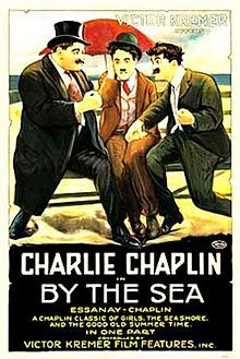 By the Sea. Charles Chaplin, Billy Armstrong, Margie Reiger, Bud Jamison. DIrected by Charles Chaplin. Essanay Films. 1915