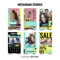 Plantilla de stories de instagram vector gratuito Layout Template, Templates, Beer Shop, Instagram Banner, Branding, Instagram Design, Sale Banner, Instagram Story Template, Social Media Template