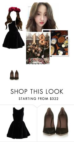 """Mya; Celebrating 18th Birthday With Members"" by euphoria-official ❤ liked on Polyvore featuring Alaïa and Givenchy"