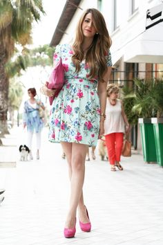 "Scent of Obsession - Fashion Blogger: My outfit for Coccinelle ""A flash of Pink"""