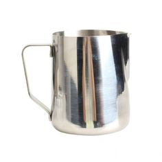 TTnight 350/600/1000mL Stainless Steel Kitchen Home Handle Coffee Cup Jug Milk Tea Frothing Jug Garland Cup Latte Jug (Silver) ** Read more reviews of the product by visiting the link on the image.
