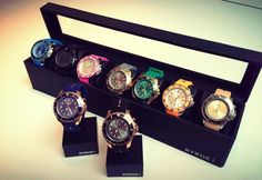 KYBOE! in a row collect a few #watchporn #fashion