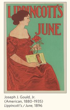 From Pomegranate's Art Nouveau 2014 Calendar