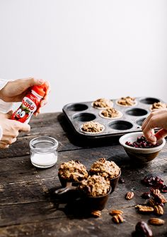 Muffin Recipes, Breakfast Recipes, Brunch, Granola Bars, Vegan Sweets, Biscuits, Healthy Cooking, Food Porn, Food And Drink