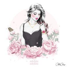 Cristina Alonso x Adelita Adelita on Behance