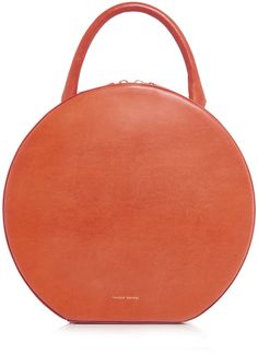 bf74afd0c920 Mansur Gavriel Leather Circle Bag Tan Tote Bag