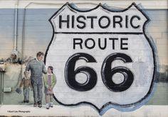 https://flic.kr/p/tVceU3   Route 66   Photo taken of a Route 66 mural along Route 66 in Edmond, Oklahoma.