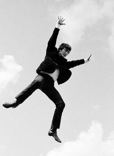 1964 - John Lennon in A Hard Day's Night film.