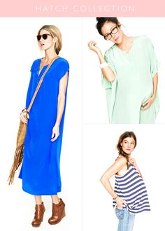 Mommies to be. The Hatch Collection. is it bad i want to wear this stuff right now?