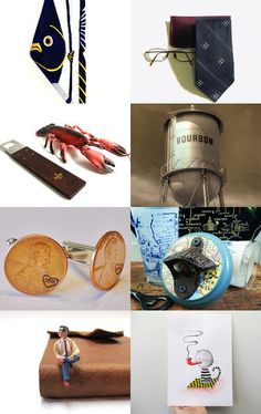 Gifts for the Guys!  by Betty J. Powell on Etsy--Pinned with TreasuryPin.com